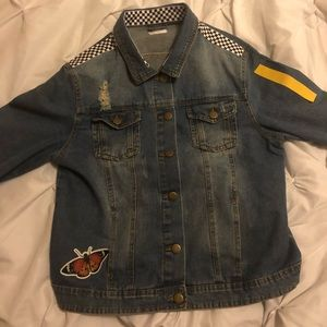 halsey HFK tour jean jacket
